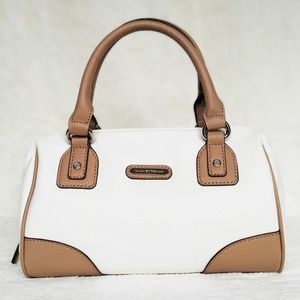 Dana Buchman Cream/Tan Handbag NWOT
